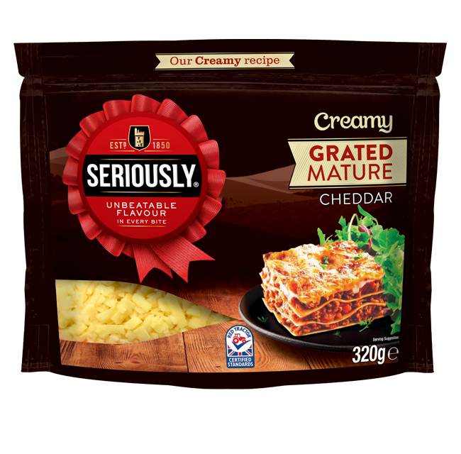 Seriously Creamy Grated Mature 320g