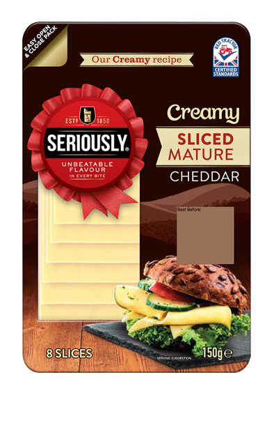 Mature Sliced Cheddar