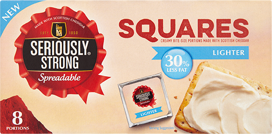 Spreadable Squares Lighter