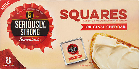 Spreadable Squares Original